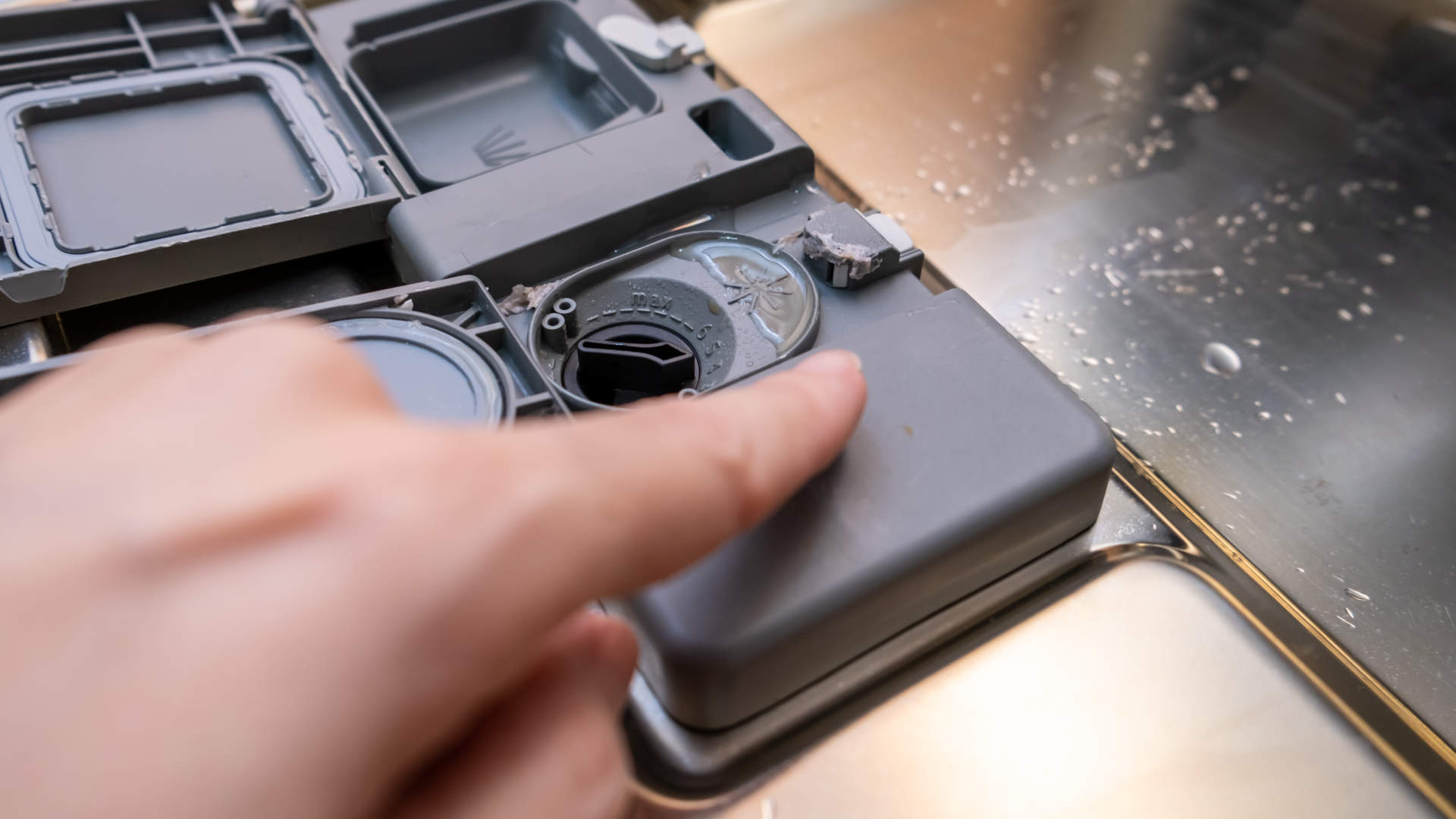 Why Your Dishwasher Detergent Is Not Dispensing Authorized Service